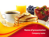 Food & Beverage: Pastry Shop PowerPoint Template #09005
