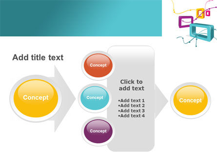 Square Frames PowerPoint Template Slide 17