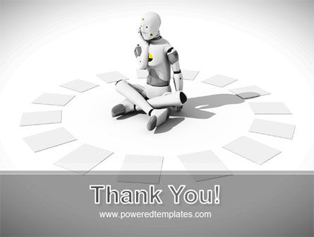 Artificial Man PowerPoint Template Slide 20