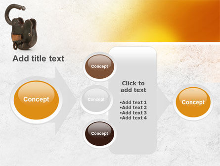 Massive Padlock PowerPoint Template Slide 17