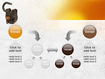 Massive Padlock PowerPoint Template Slide 19