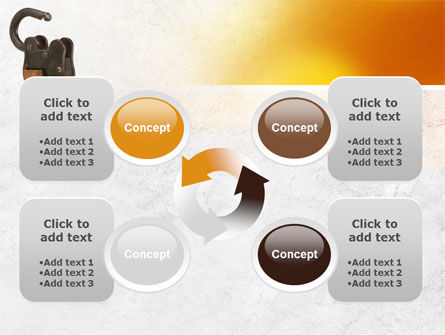 Massive Padlock PowerPoint Template Slide 9