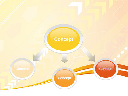 Process Flow PowerPoint Template, Slide 4, 09012, Abstract/Textures — PoweredTemplate.com