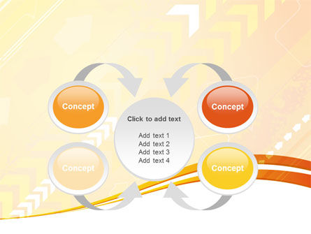 Process Flow PowerPoint Template Slide 6