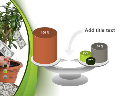 Money Tree Growing PowerPoint Template Slide 10