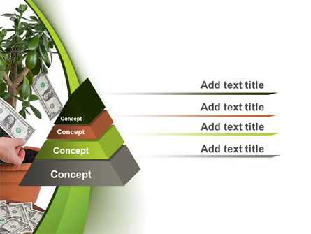 Money Tree Growing PowerPoint Template Slide 12