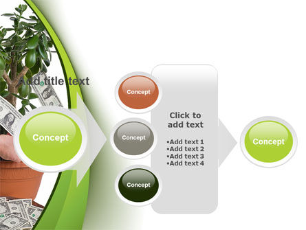 Money Tree Growing PowerPoint Template Slide 17