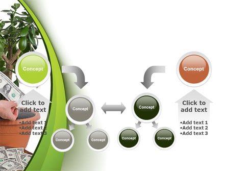 Money Tree Growing PowerPoint Template Slide 19
