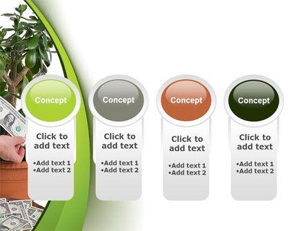 Money Tree Growing PowerPoint Template Slide 5
