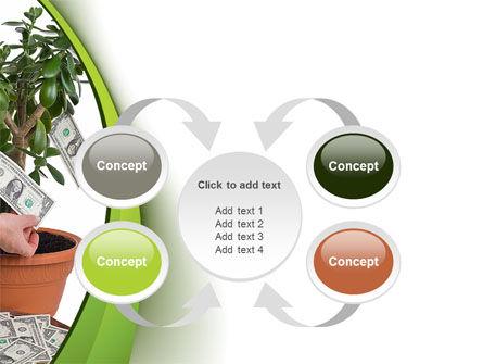 Money Tree Growing PowerPoint Template Slide 6