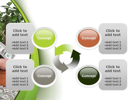 Money Tree Growing PowerPoint Template Slide 9