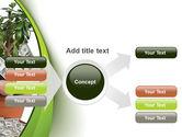 Money Tree Growing PowerPoint Template#14