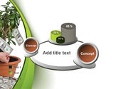Money Tree Growing PowerPoint Template#16