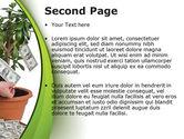 Money Tree Growing PowerPoint Template#2
