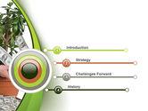 Money Tree Growing PowerPoint Template#3