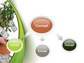 Money Tree Growing PowerPoint Template#4
