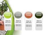 Money Tree Growing PowerPoint Template#5