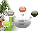 Money Tree Growing PowerPoint Template#7