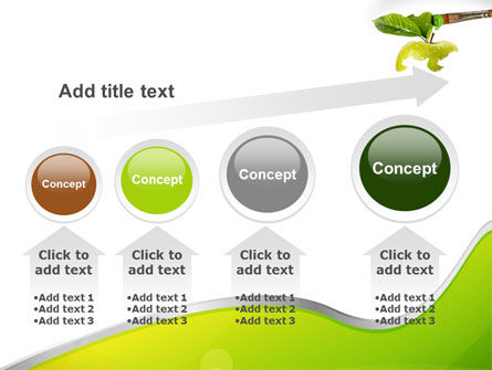 Painting Apple PowerPoint Template Slide 13