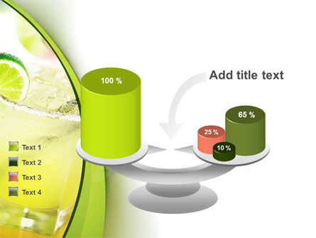 Cocktail with Lemon PowerPoint Template Slide 10