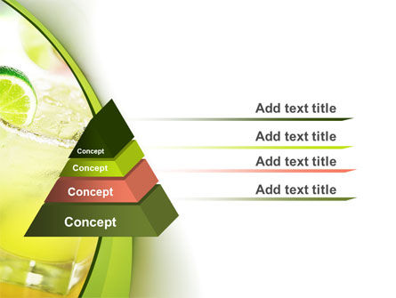 Cocktail with Lemon PowerPoint Template Slide 12