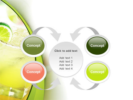 Cocktail with Lemon PowerPoint Template Slide 6