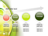 Cocktail with Lemon PowerPoint Template#13