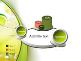 Cocktail with Lemon PowerPoint Template#16
