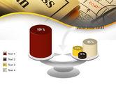Business Plan Interaction Scheme PowerPoint Template#10