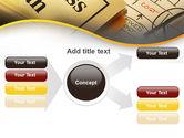 Business Plan Interaction Scheme PowerPoint Template#14
