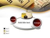 Business Plan Interaction Scheme PowerPoint Template#16