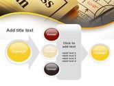 Business Plan Interaction Scheme PowerPoint Template#17