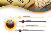 Business Plan Interaction Scheme PowerPoint Template#3