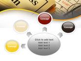Business Plan Interaction Scheme PowerPoint Template#7