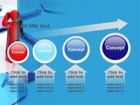Flowchart Algorithm PowerPoint Template Slide 13