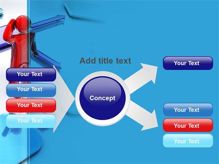 Flowchart Algorithm PowerPoint Template Slide 14