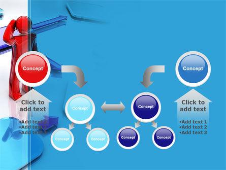 Flowchart Algorithm PowerPoint Template Slide 19