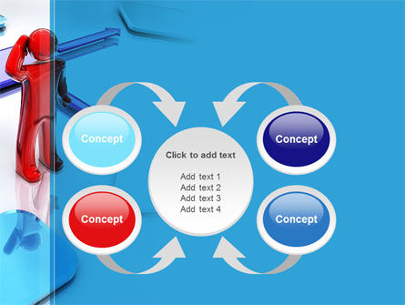 Flowchart Algorithm PowerPoint Template Slide 6