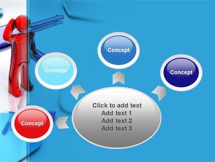 Flowchart Algorithm PowerPoint Template Slide 7