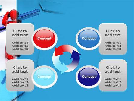 Flowchart Algorithm PowerPoint Template Slide 9