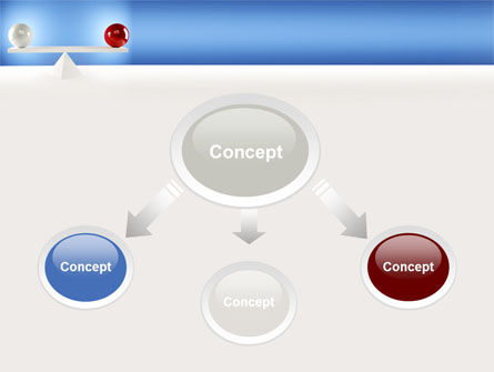 Balanced Balls PowerPoint Template, Slide 4, 09025, Business Concepts — PoweredTemplate.com