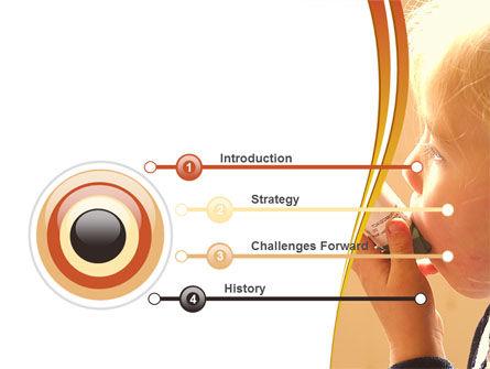Respiratory Disease PowerPoint Template, Slide 3, 09026, Medical — PoweredTemplate.com