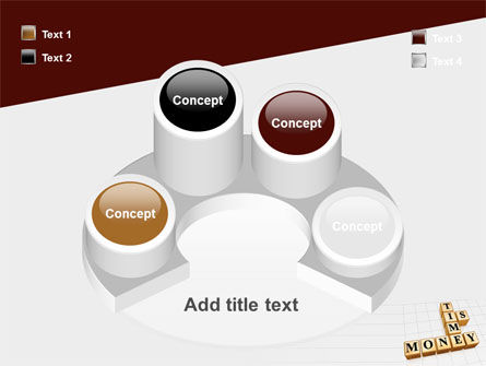 Time is Money In Cubes PowerPoint Template Slide 12