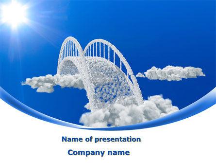Religious/Spiritual: Dream Bridge PowerPoint Template #09029