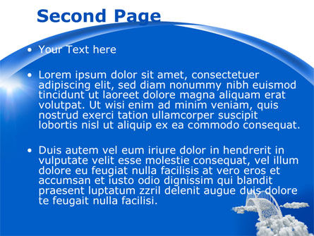 Dream Bridge PowerPoint Template, Slide 2, 09029, Religious/Spiritual — PoweredTemplate.com