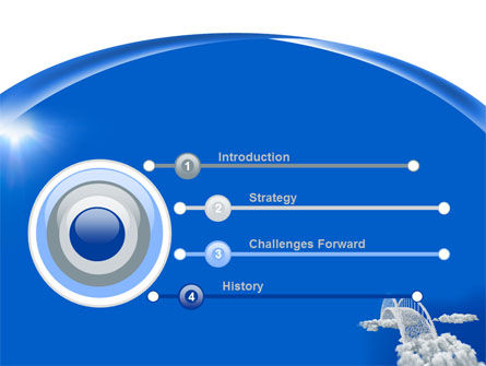 Dream Bridge PowerPoint Template, Slide 3, 09029, Religious/Spiritual — PoweredTemplate.com