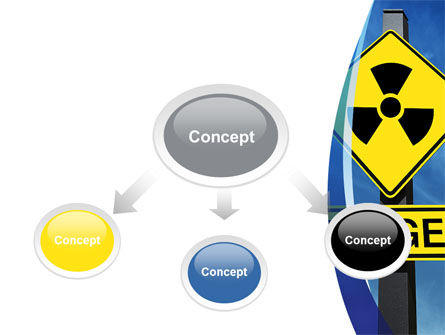 Radioactive Danger PowerPoint Template, Slide 4, 09031, Technology and Science — PoweredTemplate.com