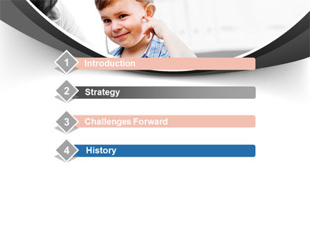Treatment Of Pediatrician PowerPoint Template, Slide 3, 09032, Medical — PoweredTemplate.com
