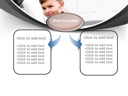 Treatment Of Pediatrician PowerPoint Template, Slide 4, 09032, Medical — PoweredTemplate.com