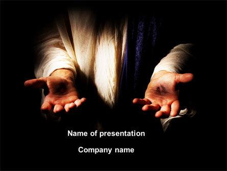 Religious/Spiritual: Stigmata PowerPoint Template #09033